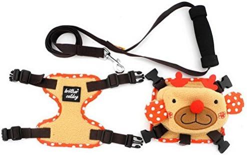 ZUNEA - Arnés para Mascota con Arnés de Forro Polar y Correa para ...