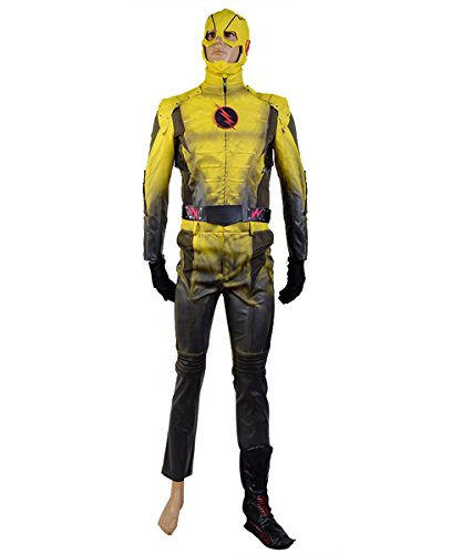 NoveltyBoy The Flash Cosplay The Reverse Flash Professor Zoom Eobard Thawne Cosplay Costume