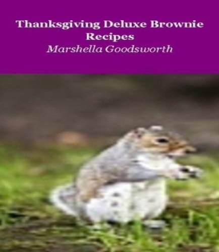 Thanksgiving Deluxe Brownie Recipes