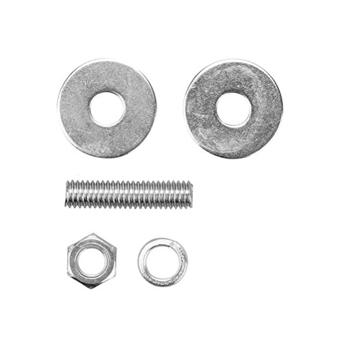 Mrcartool Auto License Plate Frame Screws,Skull Zombie Bolts Screws Cup Universal for 5mm (0.2'') Thread License Plate Tag Frame (Black + Skull Screw) by Mrcartool (Image #2)
