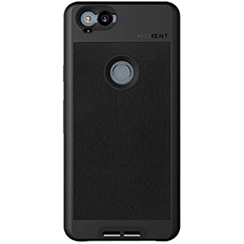 Pixel 2 Case || Moment Photo Case in Black Canvas - Thin, protective, wrist strap friendly case for camera lovers.