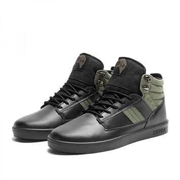 f8fa650a7cd0 Supra Bandit Skate Shoes Black   Olive   Black