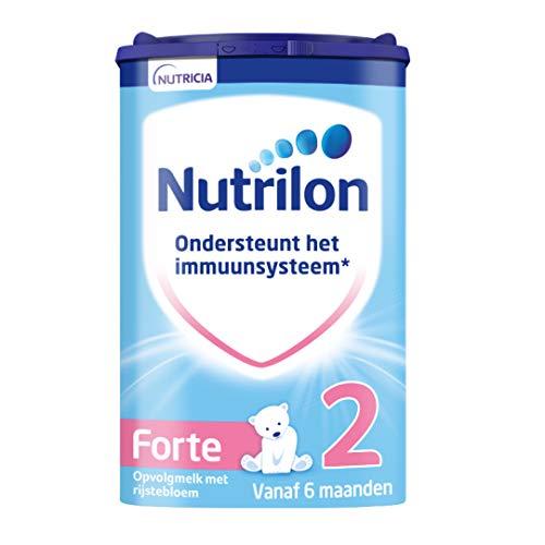 Nutrilon Forte 2 – vanaf 6 maanden – verdikte formule met rijstebloem – 800 gram – Flesvoeding