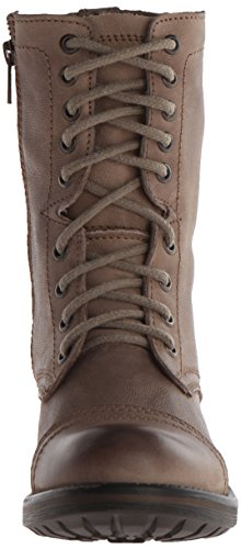 Steve Madden Troopa Boot 2.0 Combate Stone Leather