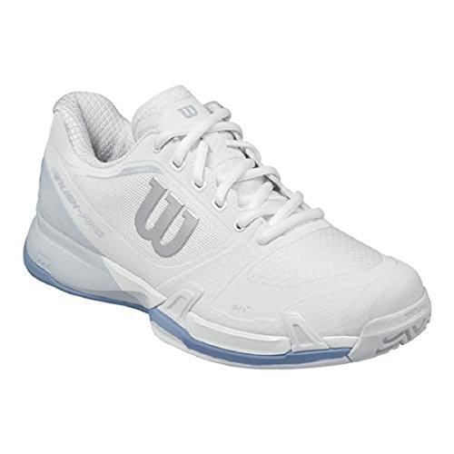 Wilson Rush Pro 2.5 Women's Tennis Shoes White/PearlBlue/Stonewash (7) (Shoe Pro Womens Tennis)