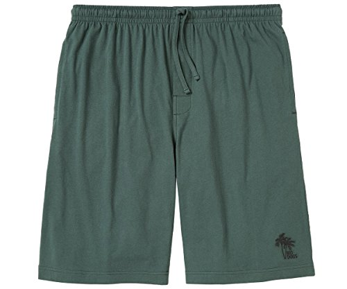Big Dogs Palm Tree Lounge Shorts 5X Hunter Green