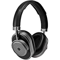 Master & Dynamic MW65G1 Bluetooth Wireless Over-Ear Headphones with Mic (Gunmetal/ Black Leather)