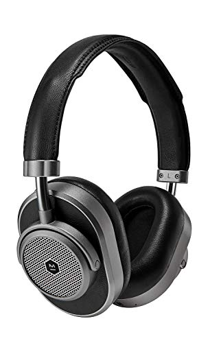 Master & Dynamic MW65 Active Noise-Cancelling (Anc) Wireless Headphones – Bluetooth Over-Ear Headphones with Mic…