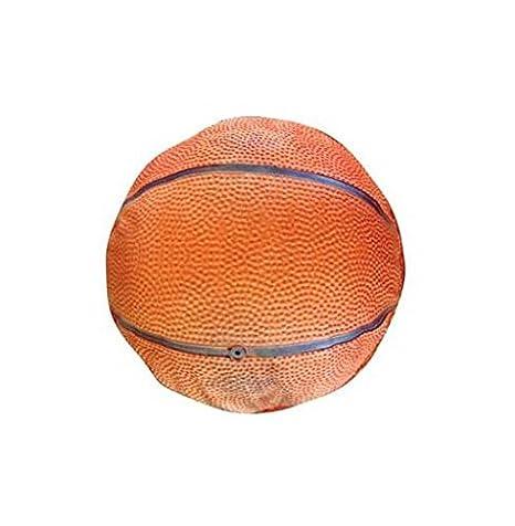 Cama redonda de baloncesto para perros (tamaño grande): Amazon.es ...