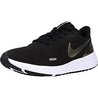 Nike Women's Revolution 5 Running Shoe, Black/Metallic Gold Grain, 8.5 Regular US