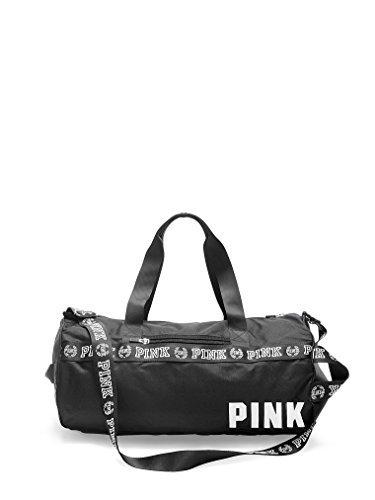 Victoria's Secret PINK Gym Duffle Bag Black