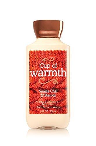 (Bath & Body Works Shea & Vitamin E Lotion Cup Of Warmth Vanilla Chai &)