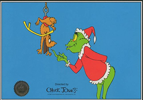 Chuck Jones Classic 'How the Grinch Stole Christmas' The Grinch Ltd Print Matted