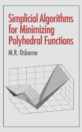 Simplicial Algorithms for Minimizing Polyhedral Functions by Brand: Cambridge University Press