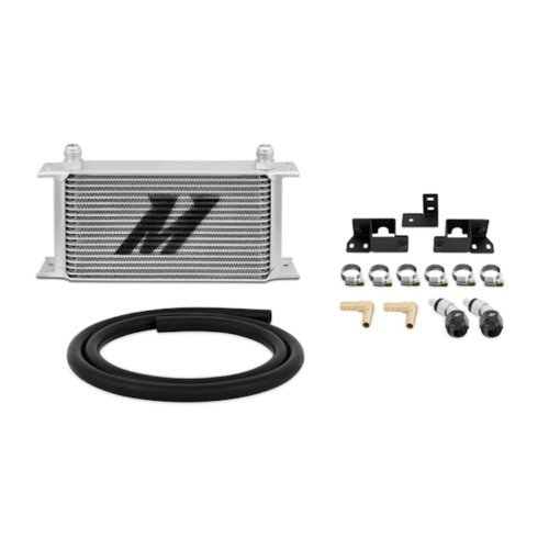 Mishimoto MMTC-WRA-07 Silver Transmission Cooler Kit for Jeep Wrangler JK by Mishimoto by Mishimoto