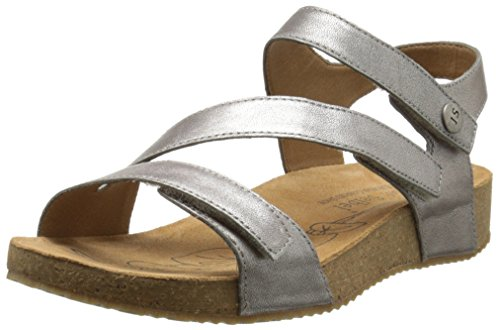 Josef Seibel Women's Tonga 25 dress Sandal, Cristal, 38 EU/7-7.5 M US by Josef Seibel