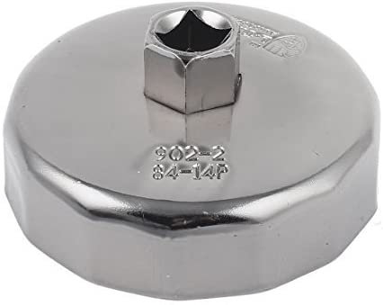 Vektenxi /Ölfilterschl/üssel Steckdose /Ölfilter /Ölfilterdeckel /Öl Utility Wrench /Ölfilterpatronen 14 Fl/öte 84 Mm Remover Tool f/ür Auto Kosteng/ünstige und Gute Qualit/ät
