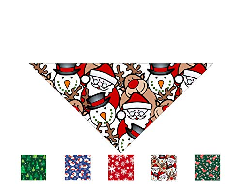 Christmas Dog Bandana - 5 Designs