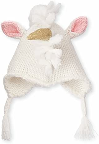Mud Pie Unicorn Knit Toddler Hat