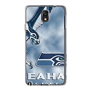 LeoSwiech Samsung Galaxy Note 3 Excellent Hard Phone Covers Customized Nice Seattle Seahawks Image [bpF20209EHpO]