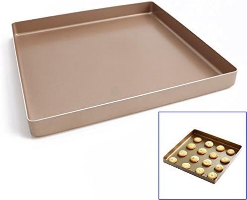 lzndeal placa para repostería antiadherente – bandeja de horno ...