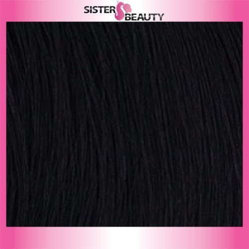 OUTRE Synthetic Hair Half Wig Quick Weave Bella Color 1 ()