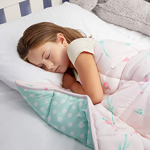 Cheap Weighted Blanket for Kids 5 Lbs - Weighted Blanket for Toddler with Anxiety Insomnia ADHD ASD | Kids Weighted Blanket for Girls Machine Washable | Pink Black Friday & Cyber Monday 2019
