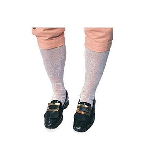 Mens Flashdance Costume (Colonial Man Costume Hose Colonial Stockings Minuteman Stockings)