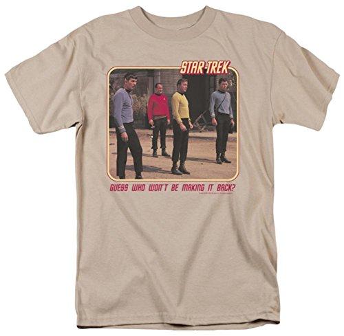 Star Trek T-Shirt RED SHIRT BLUES Original Series XL ()