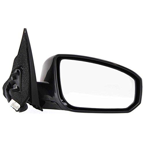 (Fits 2004-2005 Nissan Maxima SE/SL 4-Door Sedan Power Folding Heated Memory Smooth Black Rear View Mirror Right Passenger Side (04 05))