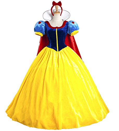 80's Movies Costumes (Papaya Wear Snow White Adult Costume Halloween Costume M)