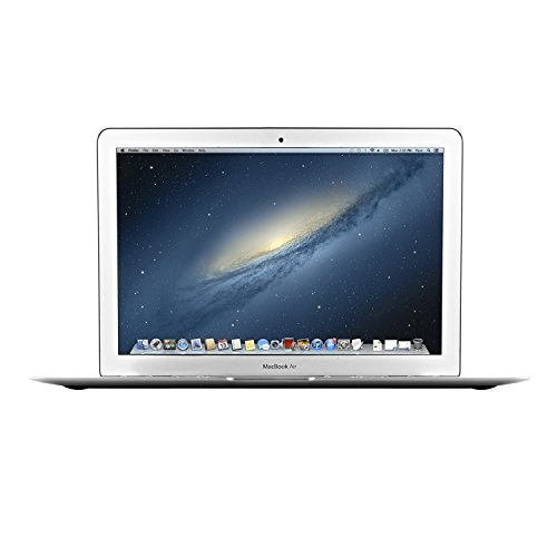 Apple MacBook Air MD760LL/B 13.3-Inch Laptop Computer, Intel Dual-Core i5 1.4GHz Processor, 4GB RAM, 256GB SSD, Mac OS (Certified Refurbished) (Extreme Graphics Integrated Intel)