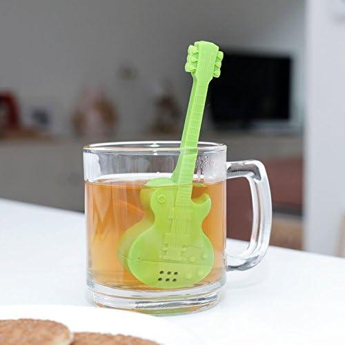 Guitarra eléctrica Colador de té – Guitarra para té Filtro Cocinar ...