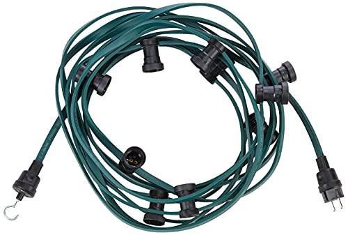 Bachmann 740.005 - Guirnalda de luces con conectores macho y hembra (10 bombillas)