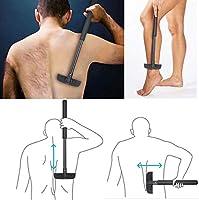Back Shaver, DIY de nuevo cabello afeitadora afeitadora corporal ...