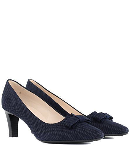Tacón Mujer Zapatos Kaiser Azul Peter De wq1R8CtH