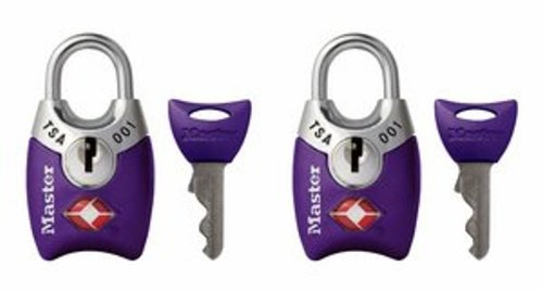 Master Lock Padlock TSA Accepted 4689TPRP product image