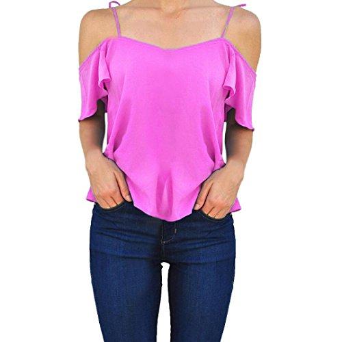 Buy calvin klein purple ruffle dress - 1