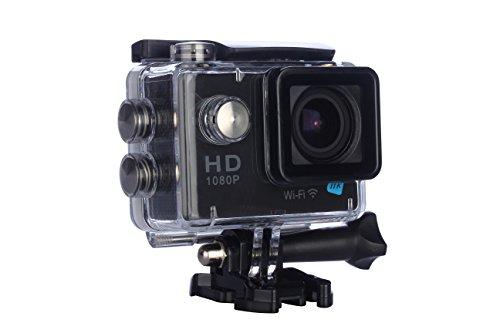 NK AC3056 12MP Full HD CMOS WiFi 44g cámara para Deportes de acción - Cámara Deportiva (Full HD, 1920 x 1080 Pixeles, 60...