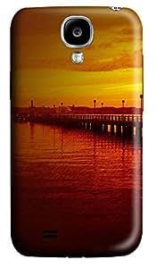 Samsung S4 Case Dusk Marina 3D Custom Samsung S4 Case Cover