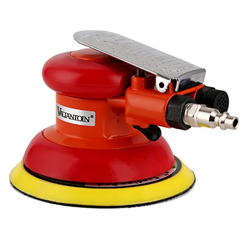 Valianto 5″ Air Random Orbital Sander Dual Action Random Pneumatic Orbital Sander Orange