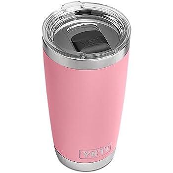 Limited Edition Pink Yeti Rambler Tumbler (20 oz)