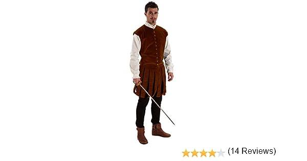 Disfraz de Hidalgo para hombre: Amazon.es: Juguetes y juegos