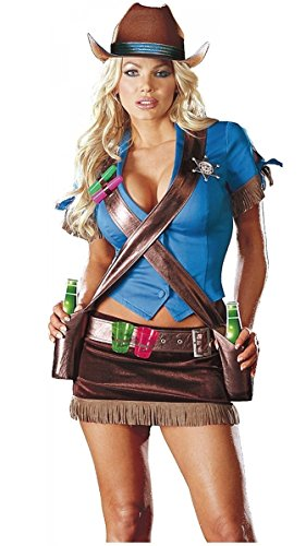 Dreamgirl Shoot Em Up Cowgirl Costume (Large)