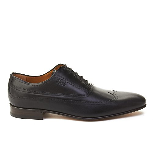 Gucci Mens Leather Oxford Dress Shoes Black pHz2e