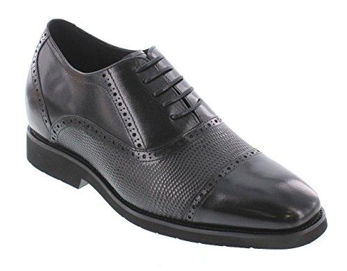mens dress shoes 1 5 inch heel - 3