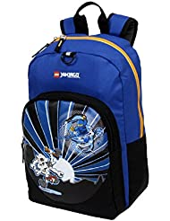 Boys Blue LEGO City Ninjago Lightning Backpack Fast Jay The Ninja Warrior Themed