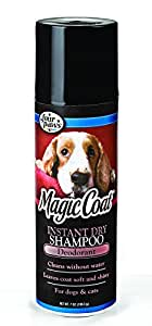 Four Paws Magic Coat Instant Dry Dog Grooming Shampoo, 7 oz