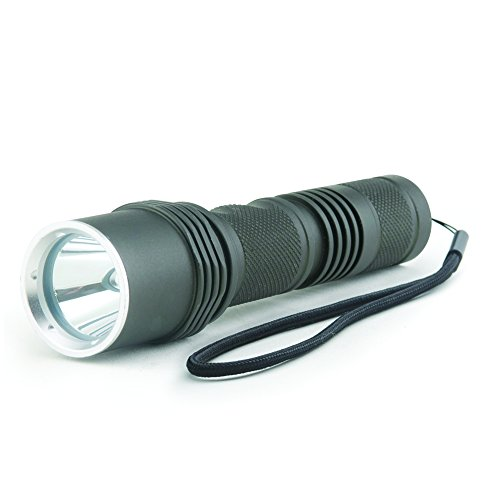 Guard Dog Security Fusion 380 Lumen Waterproof Tactical Flashlight with 5 Functions, Rechargeable