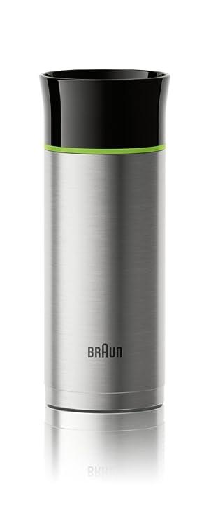 Amazon.com: Braun BRSC001 Thermal Travel Coffee Mug, Black: Kitchen & Dining